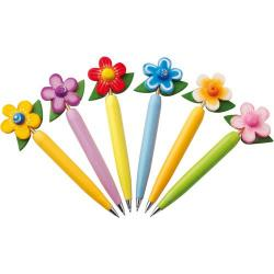 Cheap Stationery Supply of Flower ballpen Office Statationery