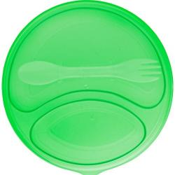Cheap Stationery Supply of Plastic round salad box.  Office Statationery