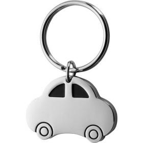 Car shaped metal key holder