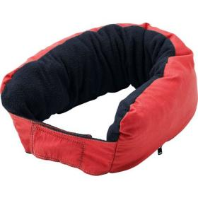 Multifunctional zipped neck pillow.