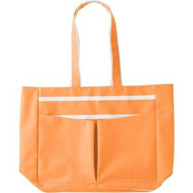Polyester 600D beach bag.