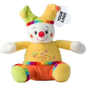 Clown plush toy.