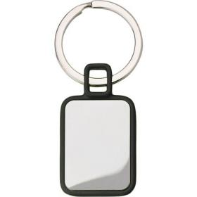 Metal rectangular key holder.