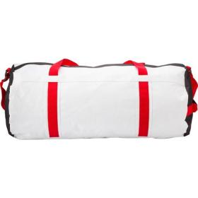 Polyester 600D large capacity barrel sports/travel bag.