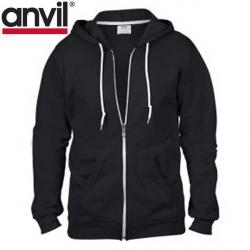 Cheap Stationery Supply of E160 Anvil Adult Full Zip Hoodie Office Statationery