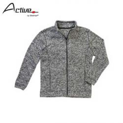 Cheap Stationery Supply of E164 Active By Stedman Knit Fleece Jacket Office Statationery
