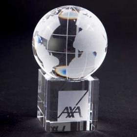 E144 60mm Crystal Globe on Base