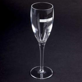 E142 Michael Angelo Crystal  Flute Glass