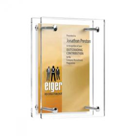 E144 Acrylic Pillar Award