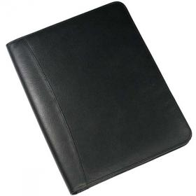 E097 Melbourne Nappa Zipped Leather Conference Folder
