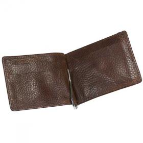 E098 Ashbourne Leather Money Card Case