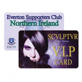 E076 Plastic Membership Card