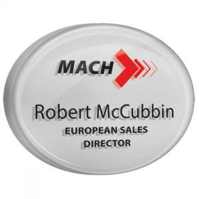 E076 Acrylic Name Badge