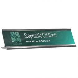 Cheap Stationery Supply of E076 Reusable Desk Nameplate Holder & Insert Office Statationery