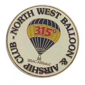 E075 Hard Enamelled Badge