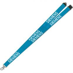 Cheap Stationery Supply of E073 20mm Flat Polyester Lanyard Office Statationery