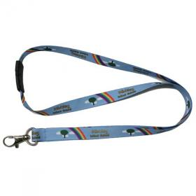 E072 Express 15mm Smooth Polyester Lanyard