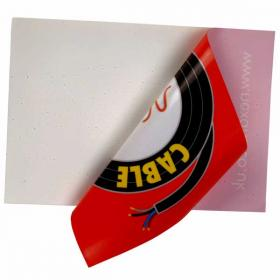 E070 Window Sticker 200 sq cm  Full Colour