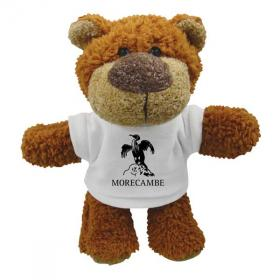 E136 8 inch Buster Bear with T-Shirt