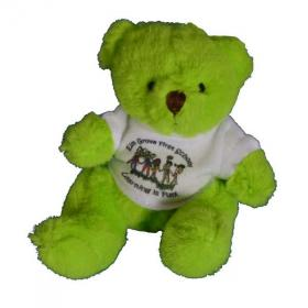 E136 Coloured Mini Bear With T-Shirt