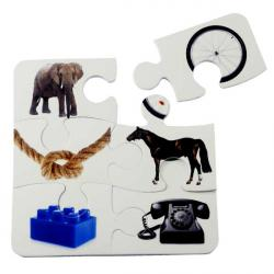Cheap Stationery Supply of E123 6 Piece Puzzle Coaster Office Statationery