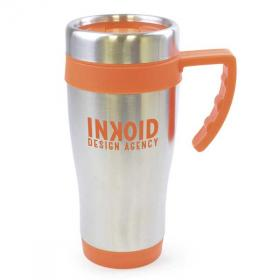 E130 Colour Trim Stainless Steel Travel Mug
