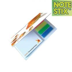 Cheap Stationery Supply of E054 NoteStix Midi Combi Set 70 x 75mm Office Statationery