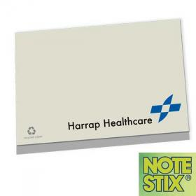 E054 NoteStix Recycled Adhesive Pads 105 x 75mm