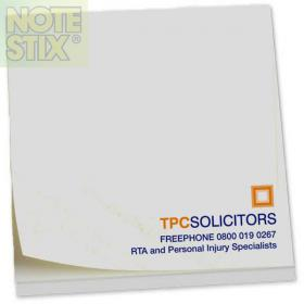 E054  Square NoteStix Recycled Adhesive Pads 75 x 75mm