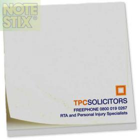 E054 Square NoteStix Recycled Full Colour Adhesive Pads 75 x 75mm