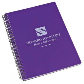 E057 A5 Enviro-Smart Polyprop Pop Wiro Notebook