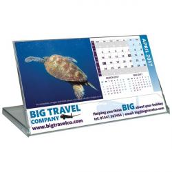 Cheap Stationery Supply of E064 Landscape Case Desk Calendar Office Statationery