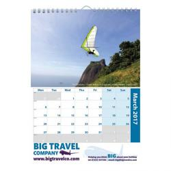 Cheap Stationery Supply of E065 A4 Portrait Wall Calendar Office Statationery