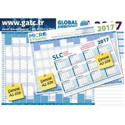 Cheap Stationery Supply of E065 A2 Wall Planner Office Statationery