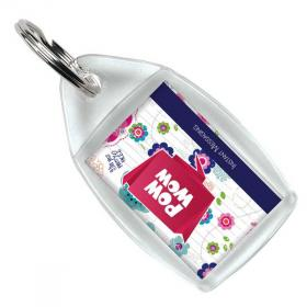 E114 Plastic Key Ring