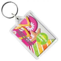 Cheap Stationery Supply of E114 Rectangular Key Ring Office Statationery