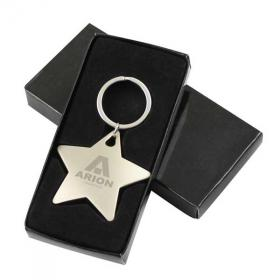 E115 Star Shaped Key Ring