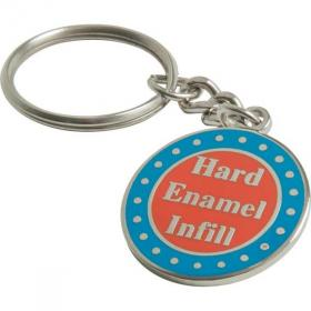 E115 Synthetic Hard Enamel Key Ring