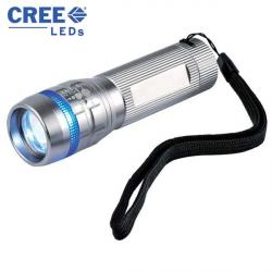 Cheap Stationery Supply of E119 CREE LED 3W Torch with Zoom Function Office Statationery