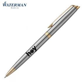 E047 Waterman Hemisphere Steel Ballpen