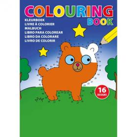 E050 A5 Colouring Book